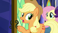 """Applejack """"we heard a lot of 'oh-my-gosh'-in'"""" S7E11.png"""