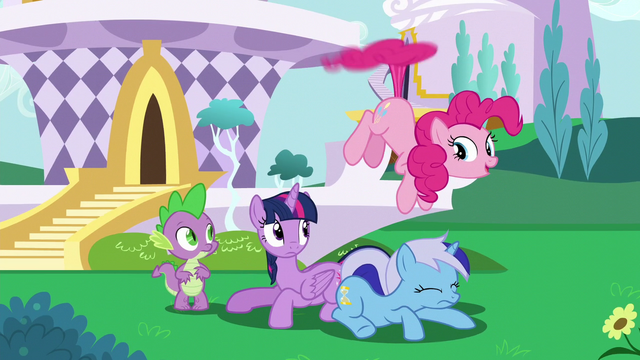 File:Pinkie Pie hovering with her tail S5E12.png