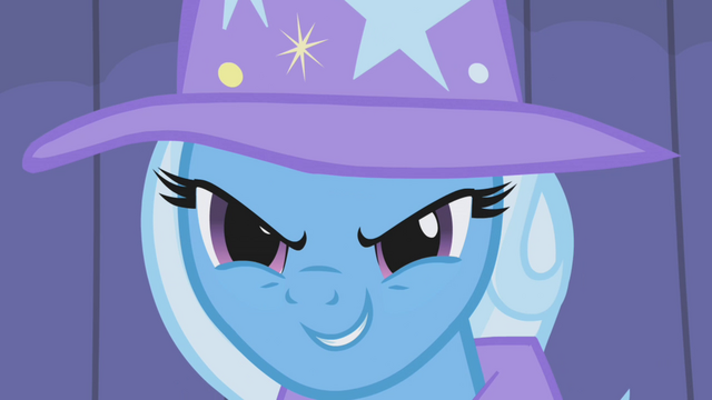 "File:Trixie ""deep within the Everfree Forest!"" S1E06.png"
