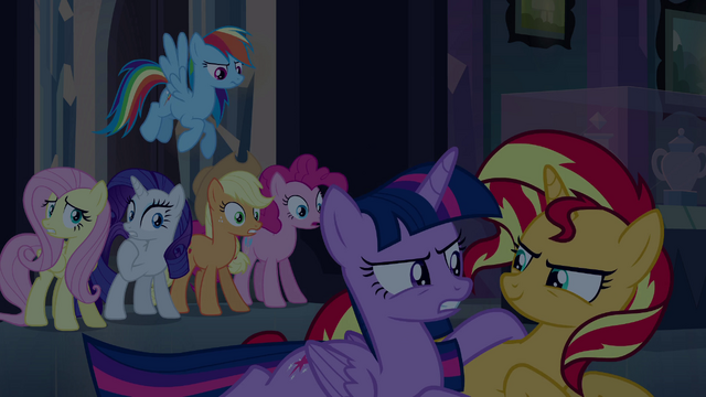 File:Twilight glares at Sunset Shimmer EG.png