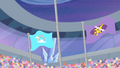 Equestria Games podium second and third S04E24.png