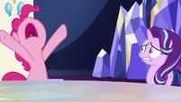 Pinkie Pie having a hysterical outburst S6E25