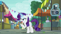 "Rarity ""then you fire off your party cannon"" S6E3"