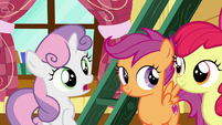 "Sweetie Belle ""you two can handle our client"" S7E6"