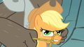 Applejack serious face S01E19.png