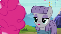 "Maud ""obviously passionate about exotic rocks"" S7E4"