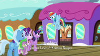 "Rainbow Dash ""we weren't the last ponies"" S7E2"