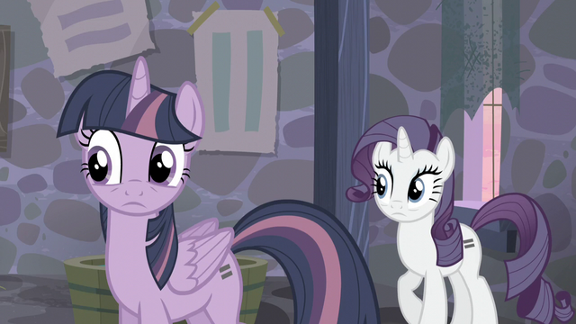 File:Twilight and Rarity hear Pinkie S5E02.png