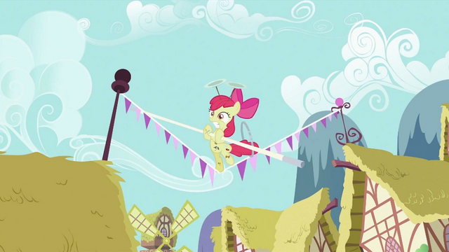 File:Apple Bloom holding a pole S2E06.png