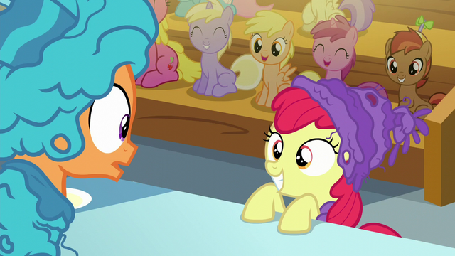 File:Apple Bloom smiles at Tender Taps S6E4.png