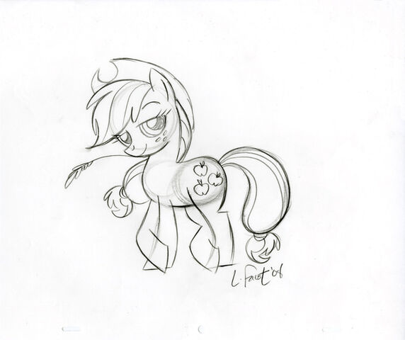 Plik:Applejack Sketch.jpg