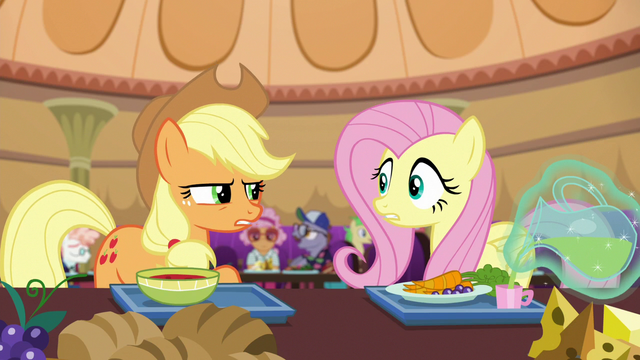 "File:Applejack suspicious ""I don't know"" S6E20.png"