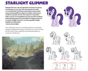 Art of Equestria page 108 - Starlight Glimmer concept art