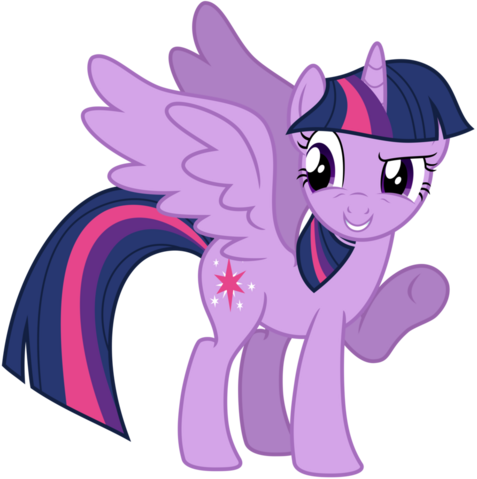 File:FANMADE Vector Alicorn Twilight Sparkle by kysss90.png