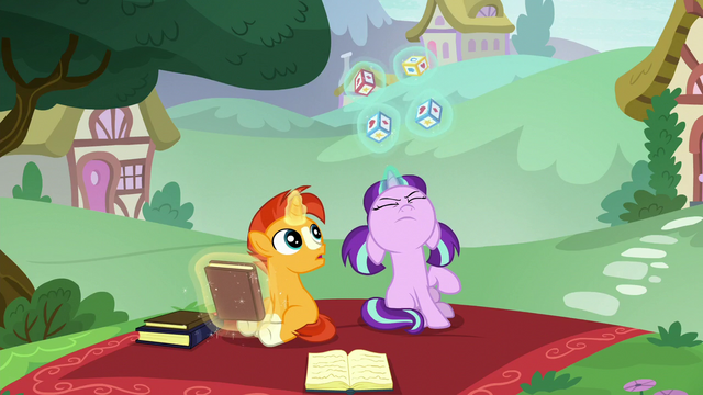 File:Filly Starlight successfully levitating toy blocks S6E1.png