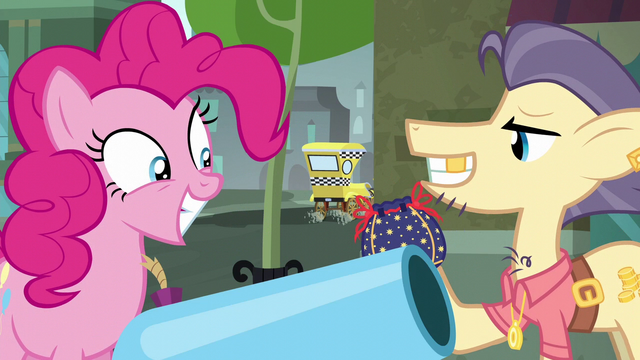 """File:Pouch Pony """"more than happy to give you the pouch"""" S6E3.png"""