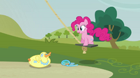 Pinkie Pie 'Actually, I'm probably still on my way down now' S3E3