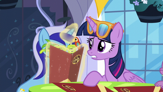 """File:Twilight """"was she always like this?"""" S5E12.png"""