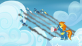 Wonderbolts fly through the sky S6E7.png