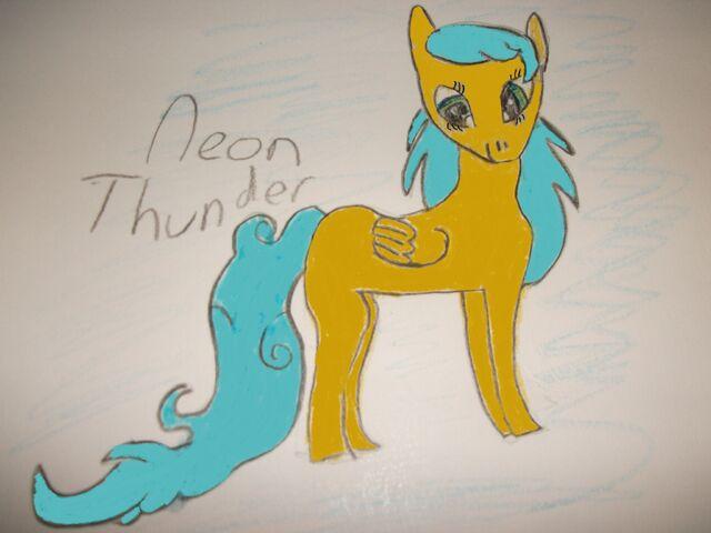 File:FANMADE Neon Thunder Oc for Magic Love.jpg