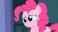 Pinkie Pie about to cry happily S2E13