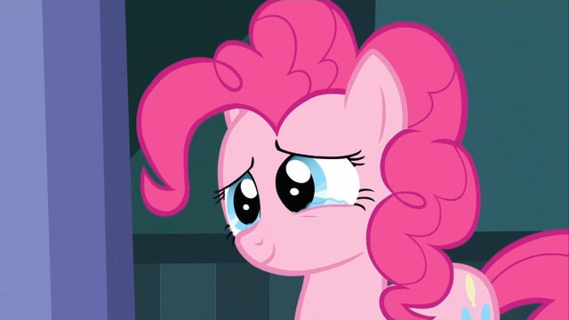 File:Pinkie Pie about to cry happily S2E13.png