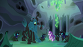 "Queen Chrysalis ""those who betray the hive!"" S6E26.png"