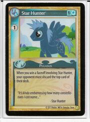 Star Hunter demo card MLP CCG