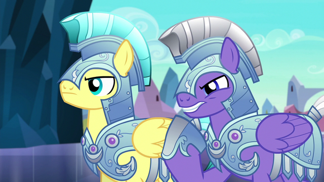 "File:Royal guard 2 ""that doesn't mean it's really her"" S6E16.png"