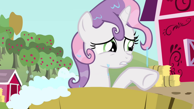 File:Sweetie Belle trying to think of something S3E04.png