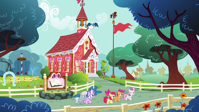 File:CMC, Diamond Tiara and Silver Spoon walking together S4E15.png