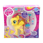 Cutie Mark Magic Styling Strands Fluttershy doll packaging