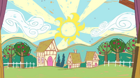 Drawing of Ponyville S4E05