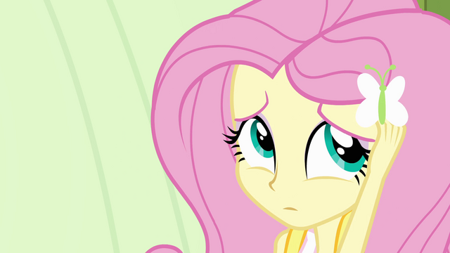 File:Fluttershy being shy EG.png