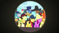 Spectator ponies laughing at Trouble Shoes S5E6.png