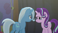 Trixie turns to face Starlight S6E6