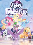MLP The Movie Comic Adaptation cover