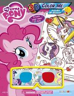 My Little Pony 3D Color Me activity book cover