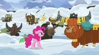 "Pinkie Pie ""don't worry, Prince Rutherford"" S7E11"