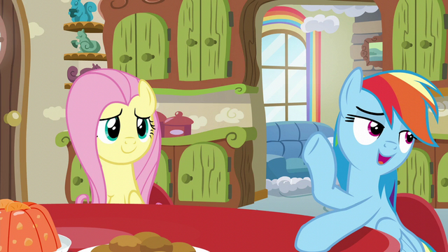 File:Rainbow Dash talking to Mrs. Shy S6E11.png