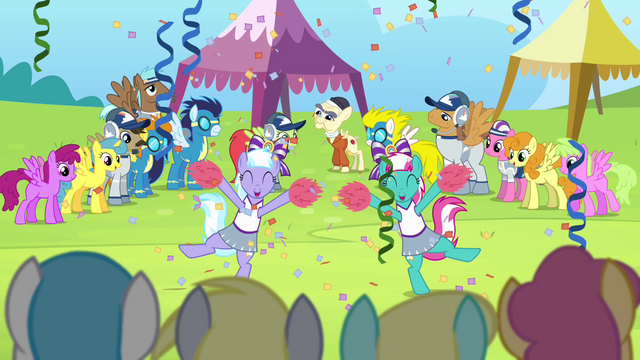 File:Cheerleaders cheering for Cloudsdale S4E10.png