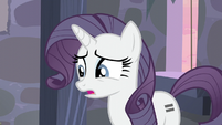 "Rarity ""are much too small for escape"" S5E02"