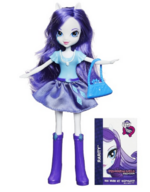 Rarity Equestria Girls show attire doll