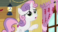 "Sweetie Belle ""I don't think Rarity would let me travel"" S6E4"