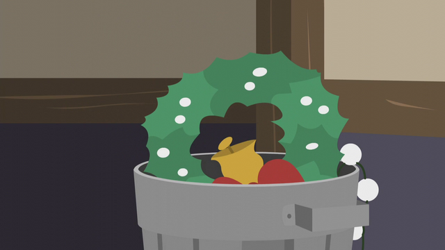 File:Wreath thrown in the trash S5E20.png