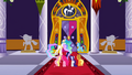 Celestia and main 6 in front of door S2E01.png