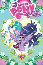 Comic issue 38 cover RI