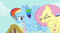 Fluttershy about to explode in anger S6E11