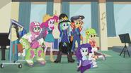 Sunset and friends in bizarre attire EG3