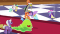 Twilight pushes Discord aside S5E7.png